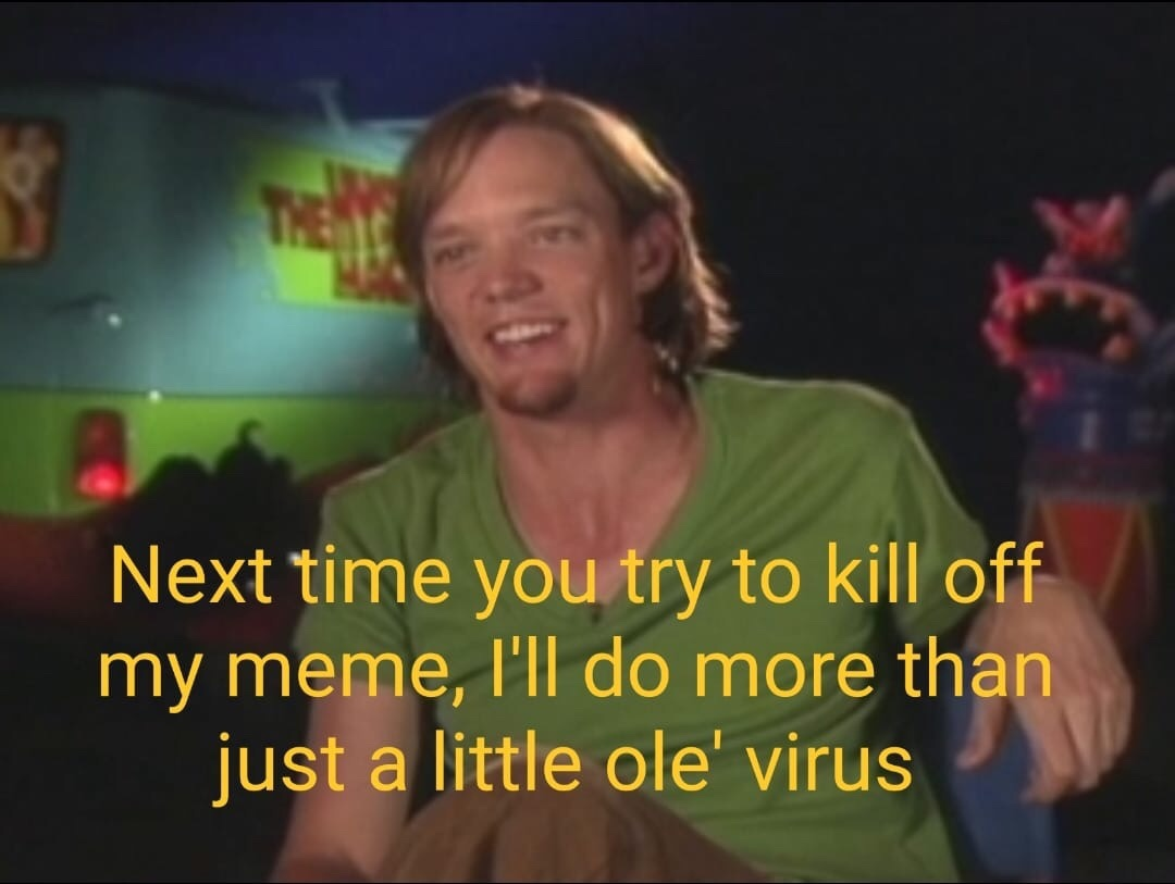 The Mighty Shaggy - meme