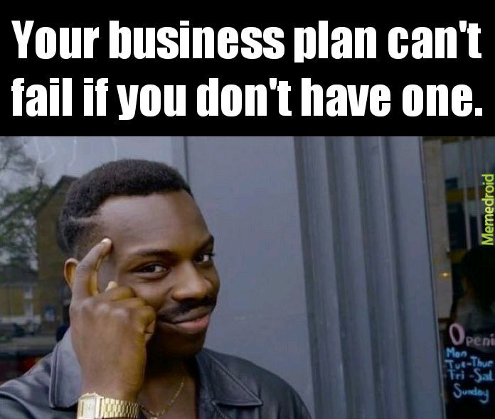 I don't have a plan. But I have a website - meme