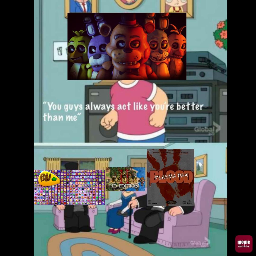 No es un meme, es una anécdota y gay el que rechaza