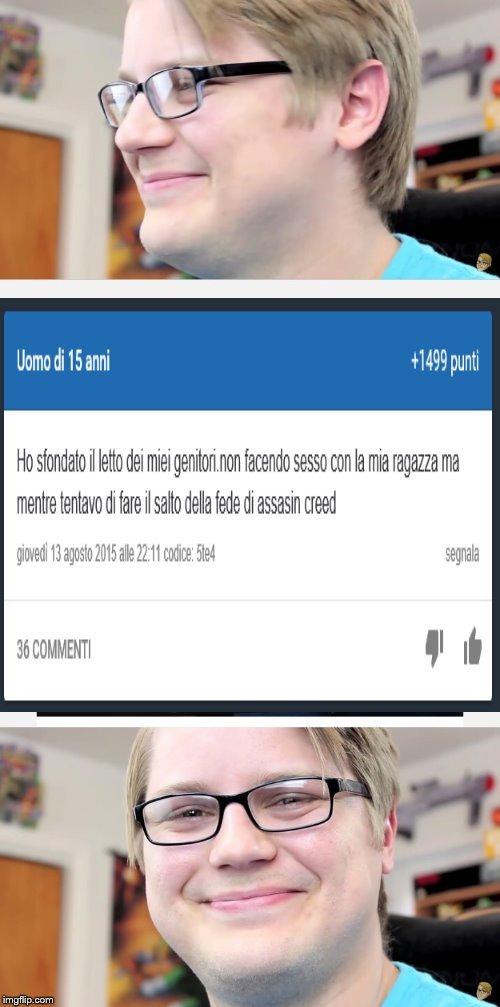 Scusate per la qualità del meme il computer è andato in Azerbaigian p.s. cito fedex