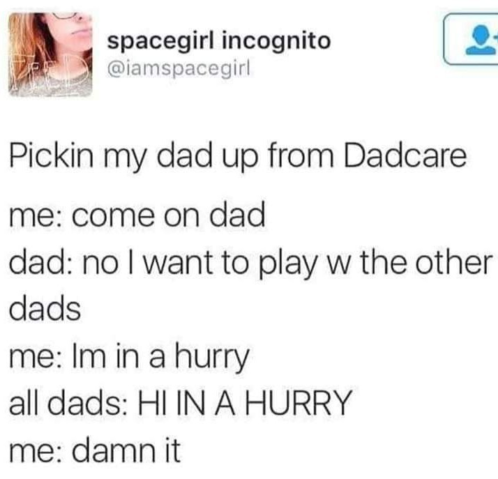 Dadcare - meme