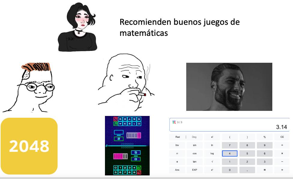 No es la calculadora xd, bueno si esta en la calculadora pero es un jueguito de decimales de pi juas juas jsjsjs, no se si en todos los buscadores este - meme