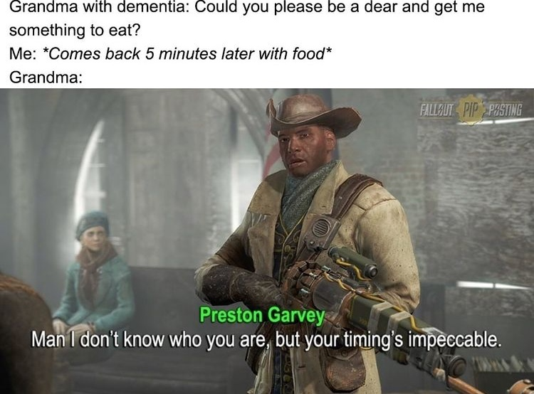 damnit Preston - meme