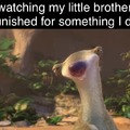 Ice age is the most mind-numbing series in cinematic history