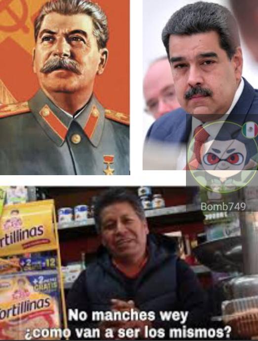 Maduro y stalin - meme