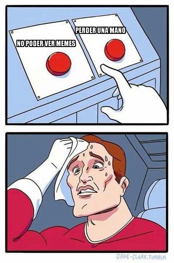 Dificil decision:v - meme