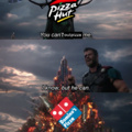 One does not simply outpizza the Hut, Atleast not alone