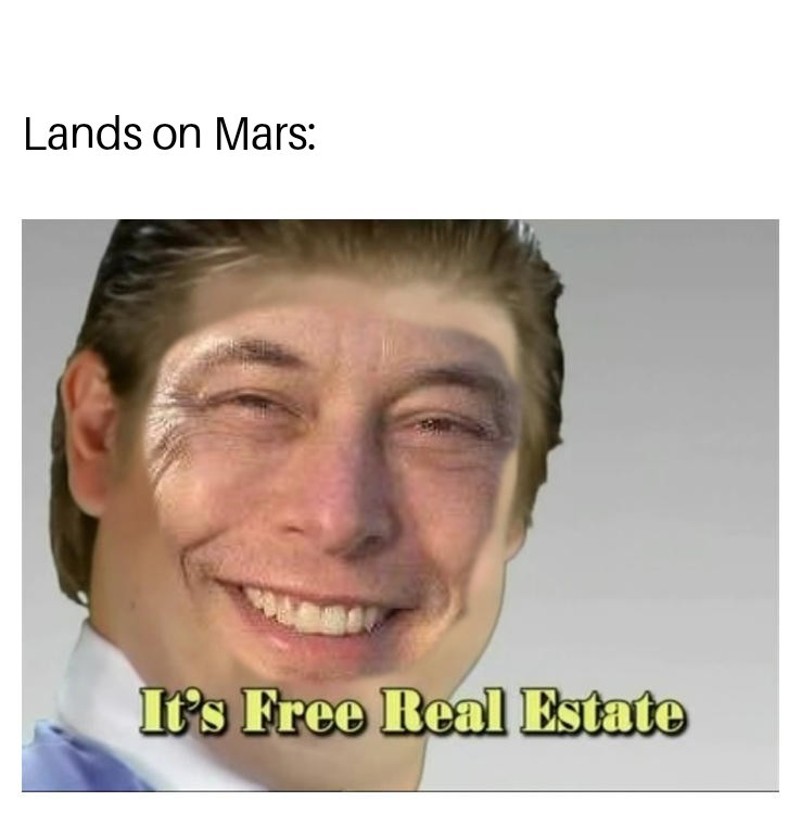 Mars colony - meme