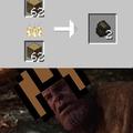 thanos in minecraft