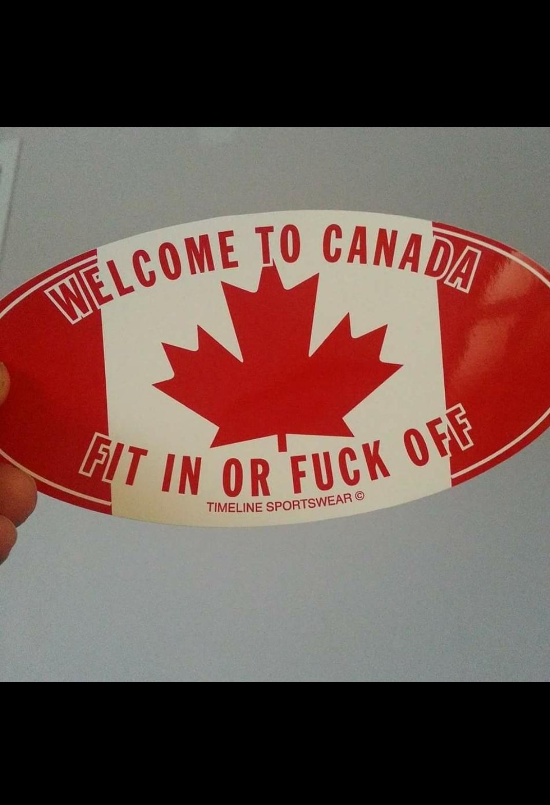 Nice Canadian's eh - meme