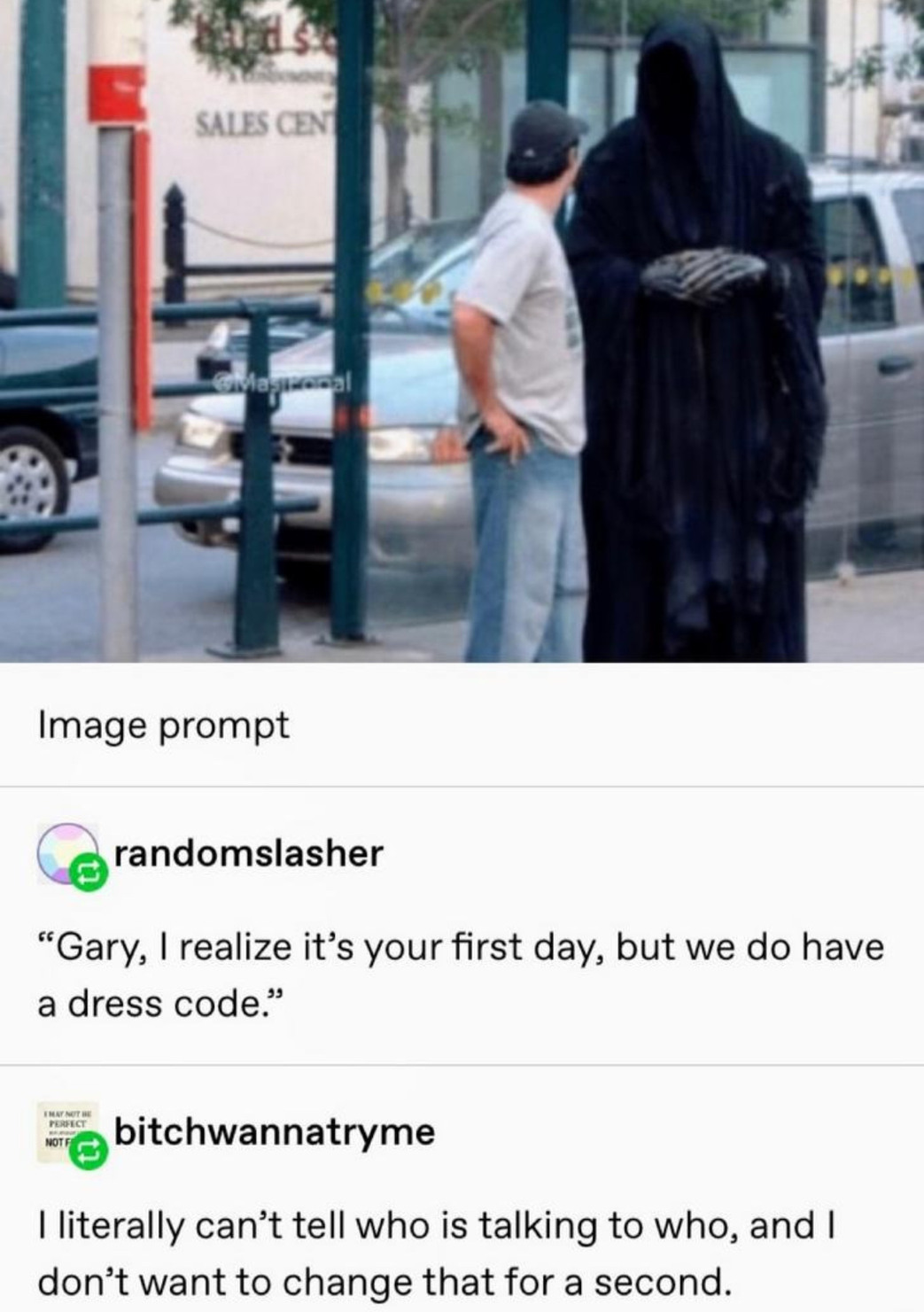 I just loved this post on Tumblr - meme