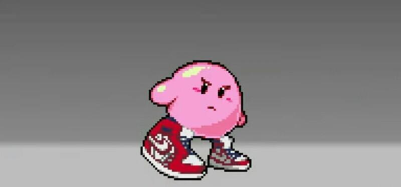 Kirby en dripland - meme