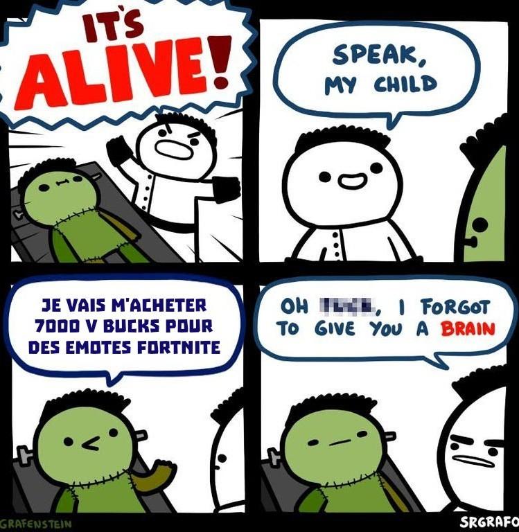 Un cerveau suffira pas - meme