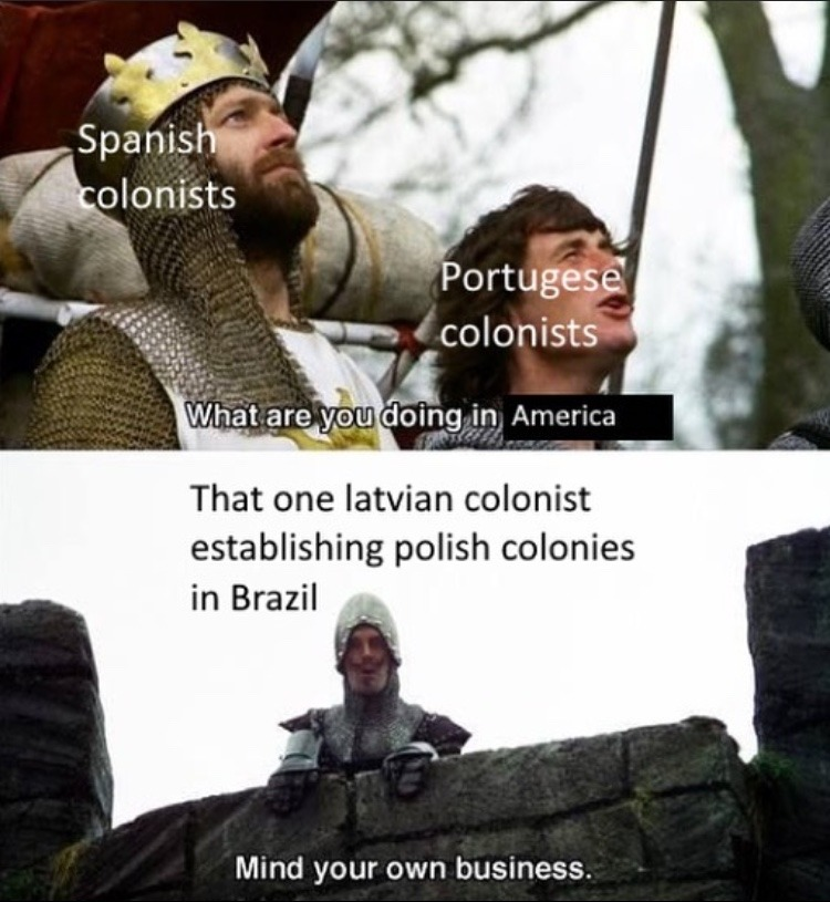when you're the whole colony - meme
