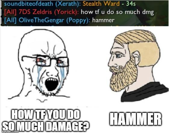 Hammer - meme