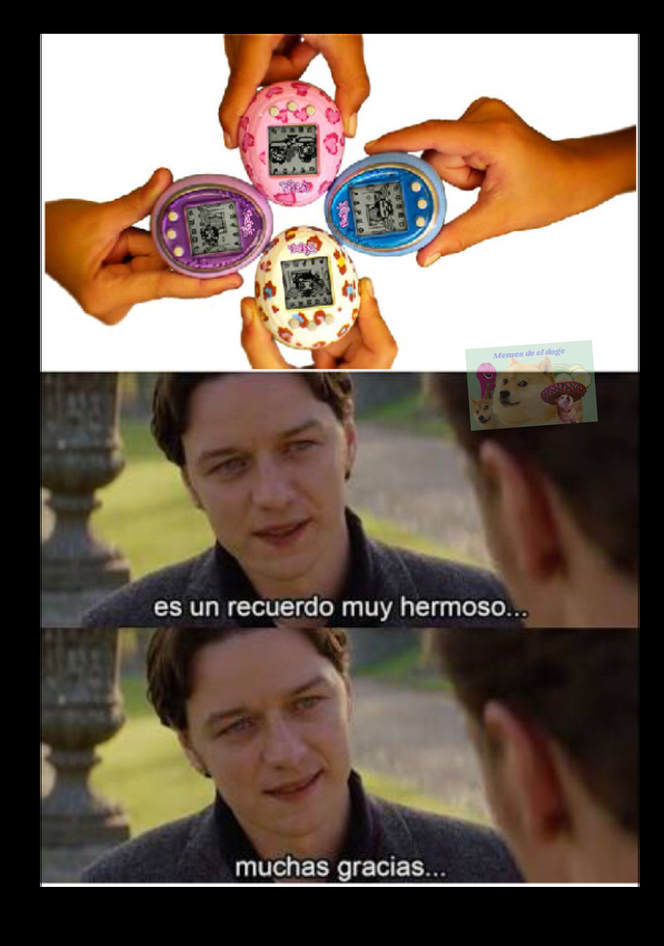 Los miticos tamagotchis - meme