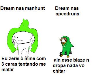 o dream sempre foi um doguinho - meme