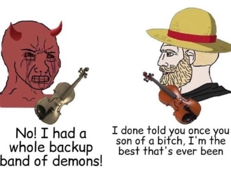 DEVIL CAME DOWN TO GEORGIA - meme