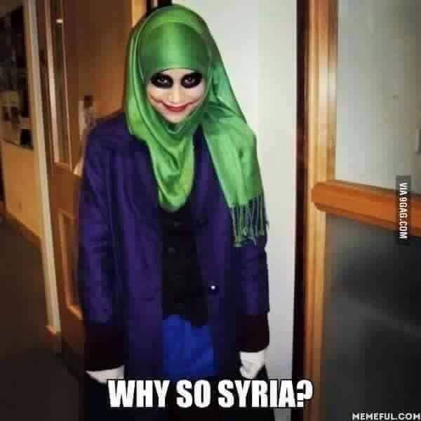 Why so Syria - meme