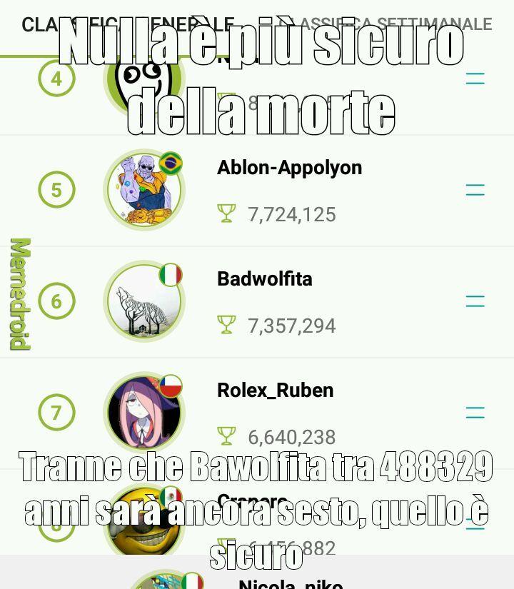 Tartufo - meme
