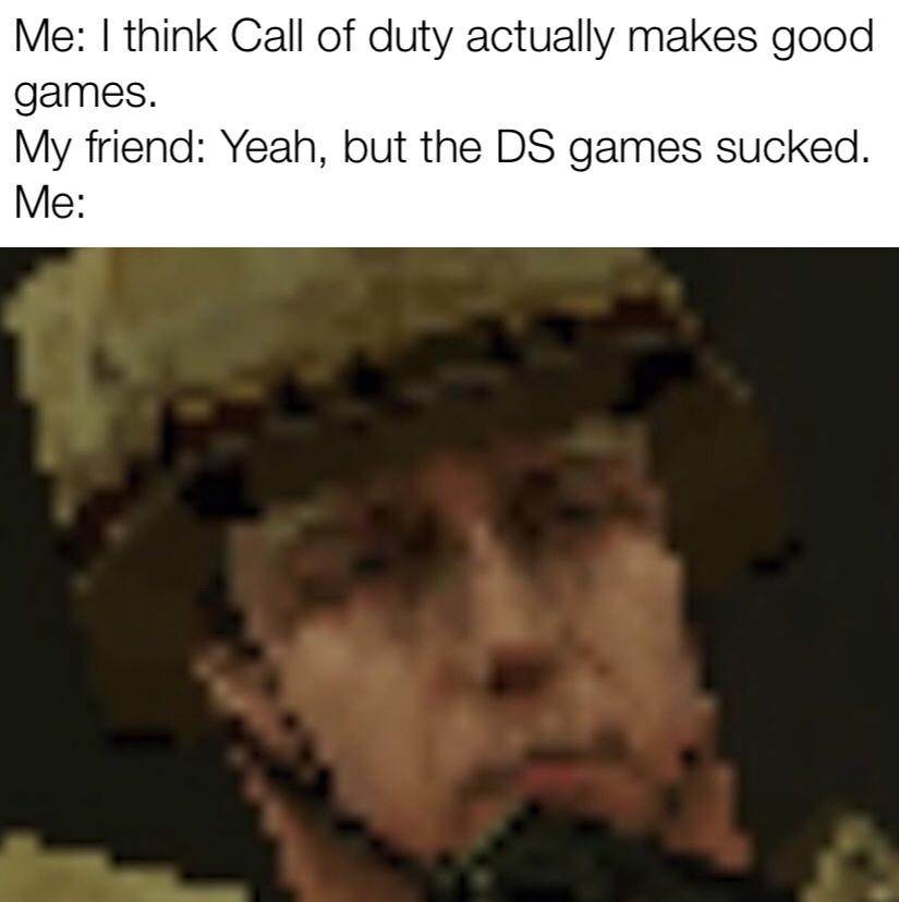 COD DS 4 LIFE - meme