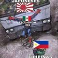 Mexicanos al grito de guerra....