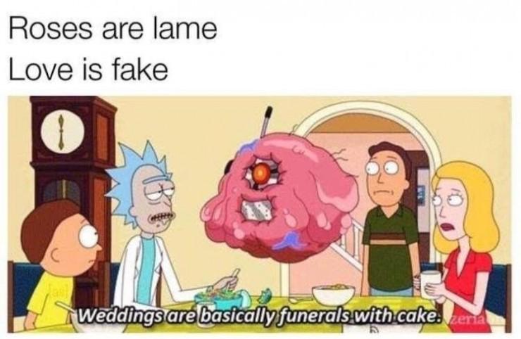 Boy do I love Rick And Morty - meme