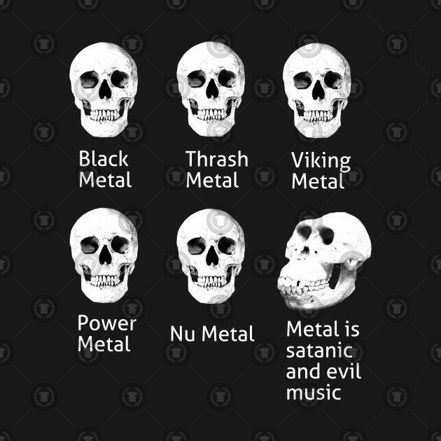 Metallica, megadeth, slayer anthrax Slipknot lich king Lost society pantera mastodon Iron maiden avoc testament accept... - meme