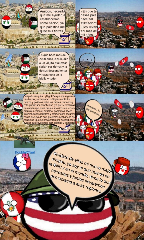 Estados Unidos, fregando a medio oriente desde 1948 - meme