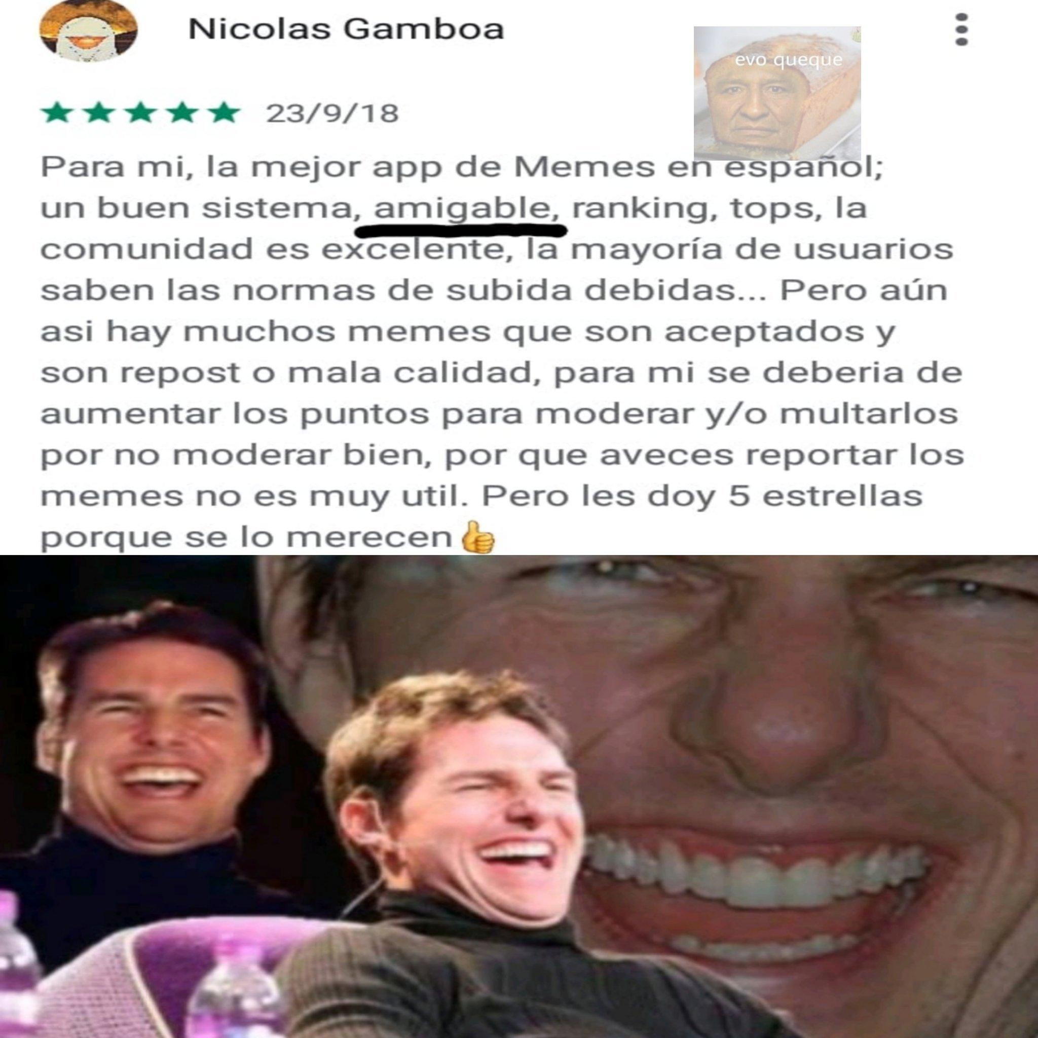 Amigable - meme