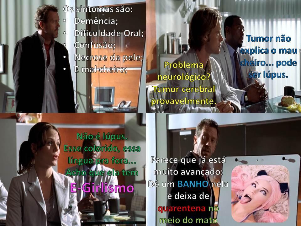 Dr. House ( discípulo de Dr. Chapatim ) descobriu o tratamento... - meme