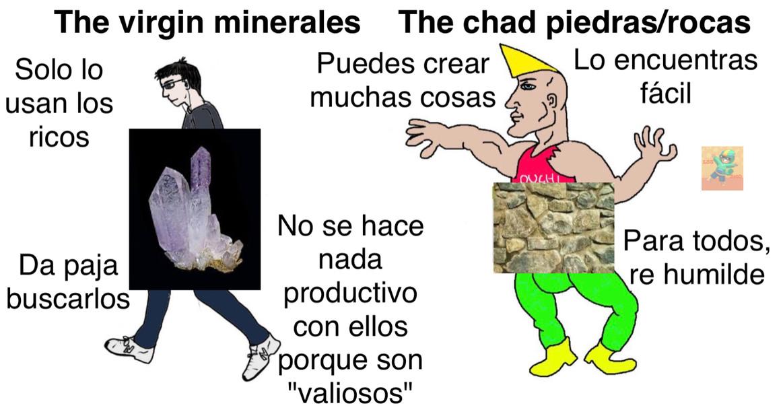 Tengan piedras *las entrega* - meme