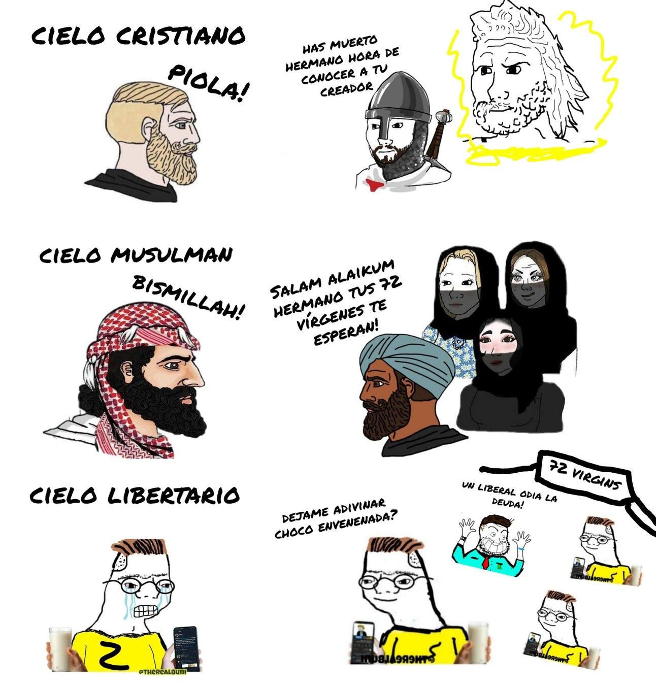 Libertarios - meme
