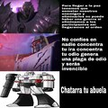 Megatron es un villano de los God