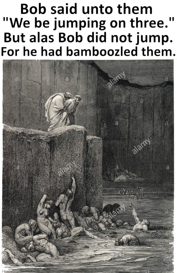Alas, bamboozled - meme