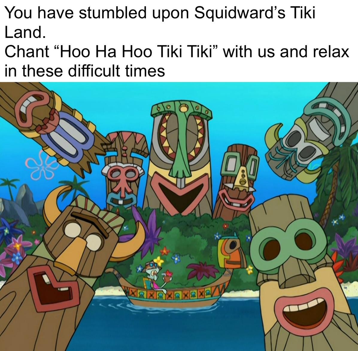 Enchanted Tiki Dreams - meme