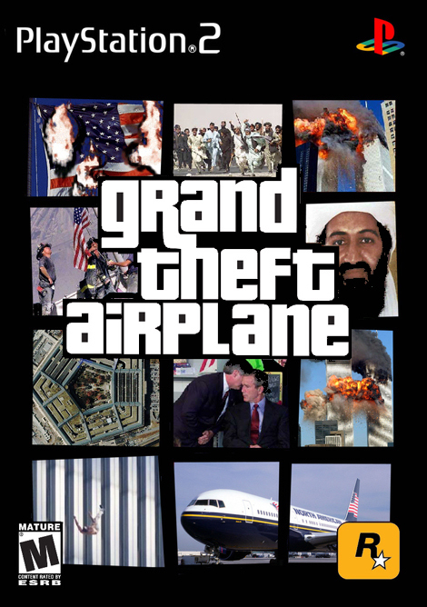 New game for the Ps2 Limited Edition 9/11 - meme