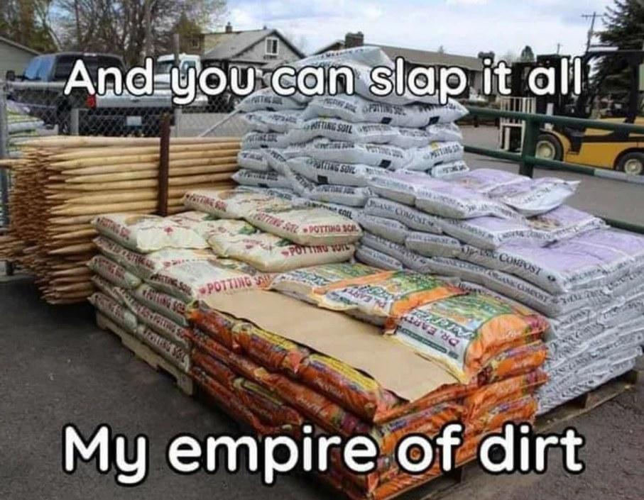 I dirt myself today - meme