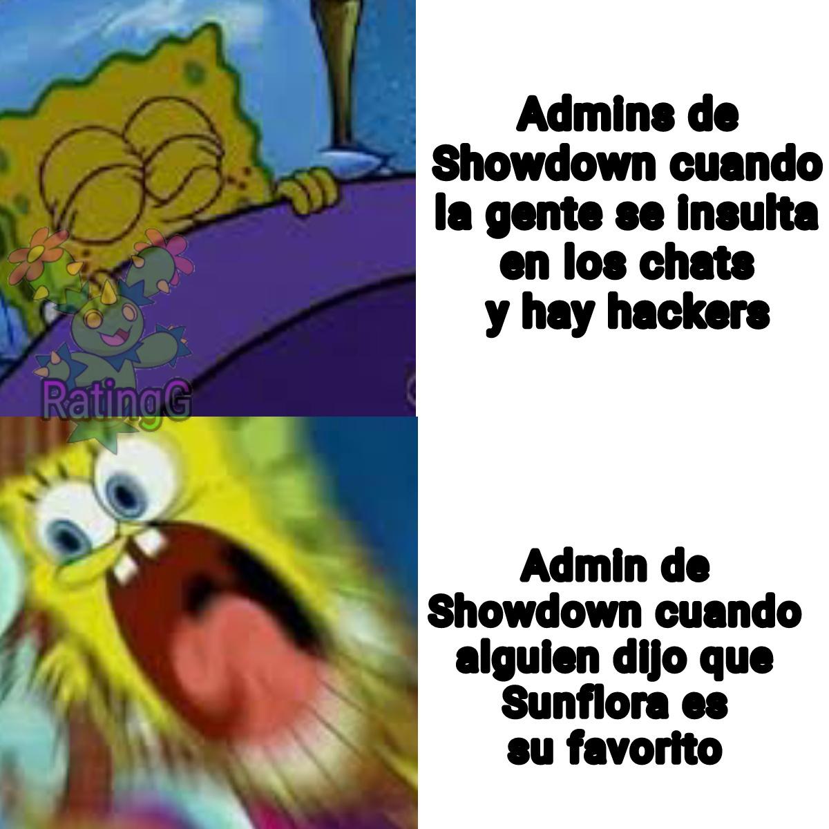 Pinches Admins - meme