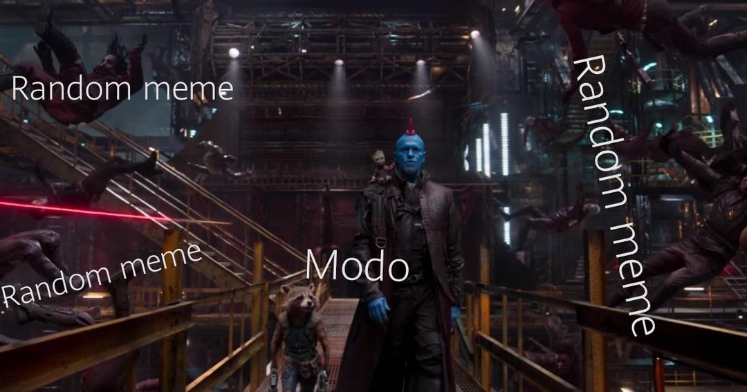 Rip yondu a jamais dans nos cœurs - meme