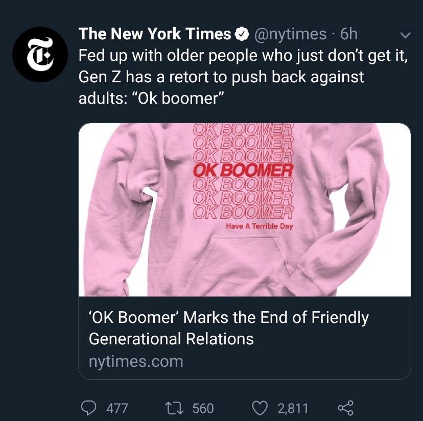 boomer alert - meme