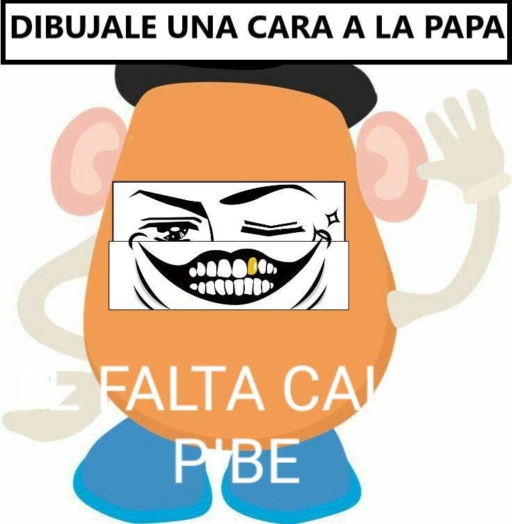 TE FALTA CALLE PIBE - meme