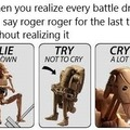 May your last Roger Roger be in the far future