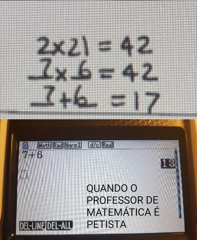 Revisão de Matemática Comunista - meme