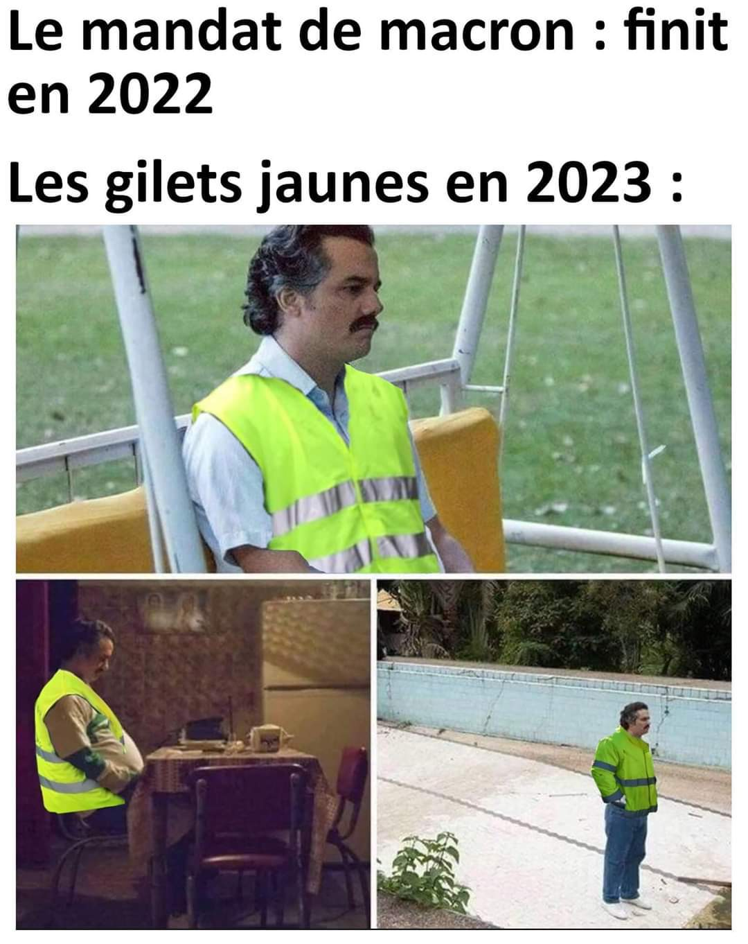 Bye bye les raleurs - meme