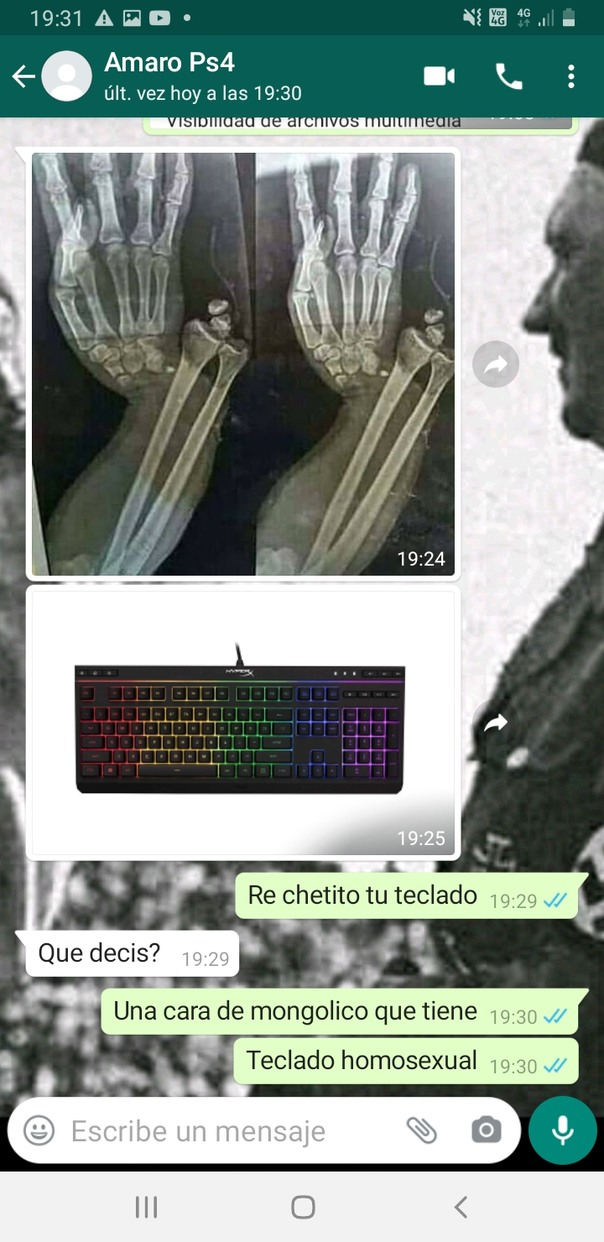 Re chetito tu teclado - meme