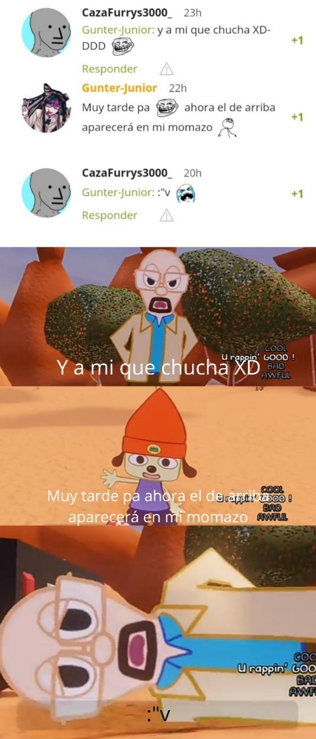 Y a mi que chucha XDDDDD - meme
