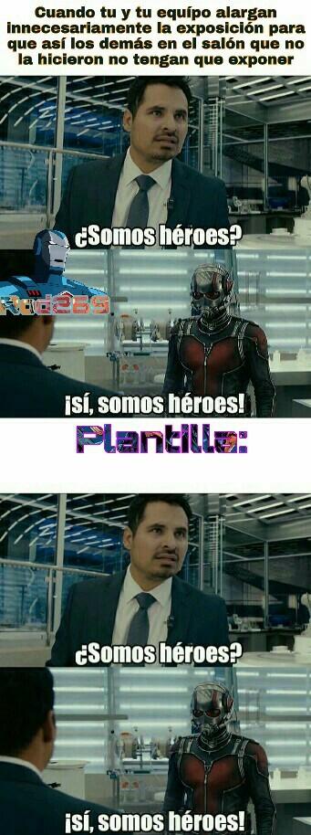 Un Verdadero Héroe|Plantilla Gratis - meme