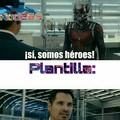 Un Verdadero Héroe|Plantilla Gratis