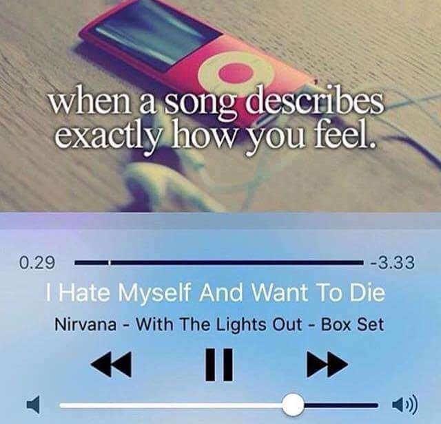 I hate myself - meme